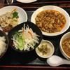 唐居 - 料理写真:回鍋肉 麻婆豆腐