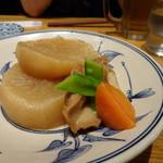松島 - へそ大根仙台麩の煮物 480円