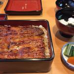島田屋 - うな重  松 2900円