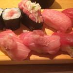 板前寿司 - まぐろ握り