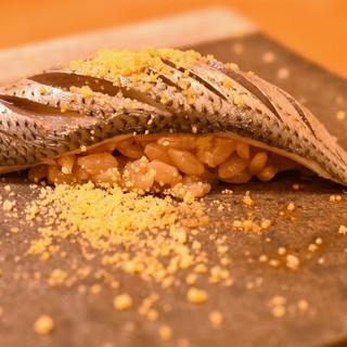 季節のお寿司と海鮮料理