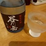 70843910 - 【2017.7.31(月)】冷酒(谷川岳・純米吟醸・300ml)780円