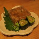 沿露目 - 料理写真:穴子の煮こごり1