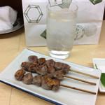 70845103 - ズリ串、芋焼酎