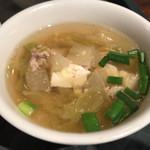gapaoshokudou - スープ
