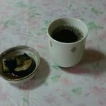 翔 - 料理写真:最初にお茶と小鉢