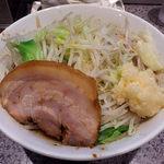 ラーメン 宮郎 - ラーメン並盛・ニンニク(800円)