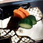 日本料理 花月 - 香の物