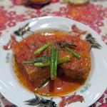 Mai mai - 厚揚げのトマト煮込み¥350