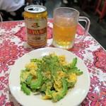 Mai mai - ゴーヤと卵の炒めもの¥400