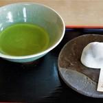 茶丈藤村 - 銘菓たばしる、抹茶