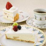 コーヒーパーラー ヒルトップ - ホテルメイドケーキ 一例