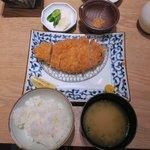 あんず  - 吟醸上州豚ロース膳(150g)