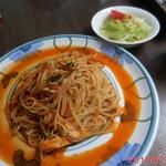 バンビーナ - 料理写真:ランチセット \800~1100