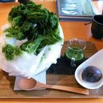 70852539 - 抹茶小豆氷(694円)