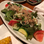 魚哲 - サラダ