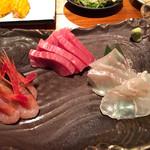 魚哲 - 刺し盛り