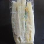 ドーネル - 三角サンド(購入時)