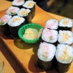 やまと - 細巻き寿司¥270×2