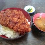 柏屋食堂 - 上名代ソースカツ丼ロース(1200円)