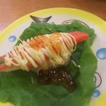 かっぱ寿司 - かにかまサラダ包 税込108円 (2017.07.31)