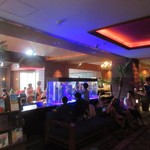 The lounge on the water - お店は海ノ中道にあるホテル、ルイガンスの一階あります。