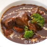 牛たん炭焼き 利久 - 牛たんシチュー定食