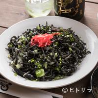 いちまいる - もっちり美味しい食感『沖縄そば麺でつくる イカスミ焼きそば』