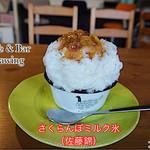 カフェ&バー ドローイング - 料理写真:佐藤錦を使用しています。