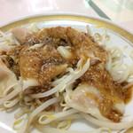 麻婆菜館 - 水餃子、胡麻ピリ辛で!のオーダーです。