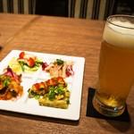 カフェ・エスタシオン - 本日の生ビールセット