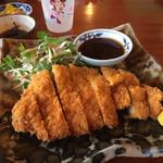 うちなーの味 石なぐ - アグー豚ロースかつ(¥1200)