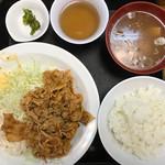 食事処 志野 - 名物ニクシチ980円