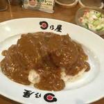 日乃屋カレー - ヒレカツカレー(七分)、カチュンバル