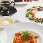 小川珈琲 - パスタコース。気軽にディナーを。