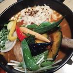 70861859 - 20品目野菜+焦がしチーズ&ホールトマト