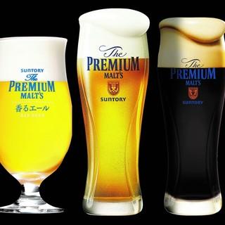 京の地酒や「3種プレモル」の豪華飲み放題