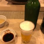70863598 - 蕎麦茶と土佐焼の醤油だがね〜♫❗️
