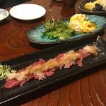 70865250 - 炙り伊豆牛のおろしポン酢(980円)