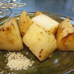 焼きやき亭 - 長芋さっくり焼き。