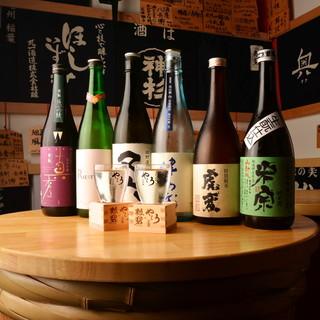 愛知・岐阜・三重の蔵元が造る【100種以上】の日本酒