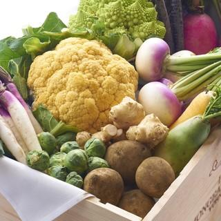 《「鎌倉野菜」食材へのこだわり》