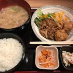 居酒屋竹ちゃん - 日替り定食 早割で@660