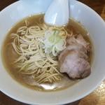 Jikaseimenitou - 肉そば小(焼豚4枚)750円