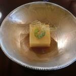 ゆるカフェ日和 manaya - ともろこしの豆腐