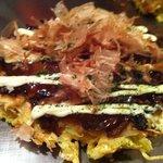 Gottsui - イカ豚入りお好み焼き