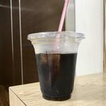 ジェラテリア ヴェリタ - アイスコーヒー、270円です。
