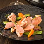 宮城県登米市産 伊達の赤豚フィレ肉のグリル シェリービネガーソース