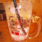 70872050 - 生姜の入った焼酎