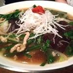 新潟 三宝亭 東京ラボ - 韮葱蕎麦